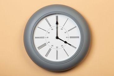 roman wall clock