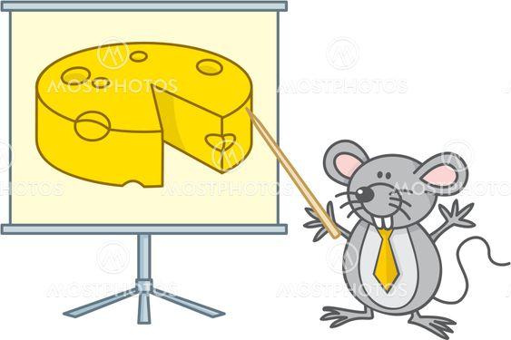 Mouse businessman