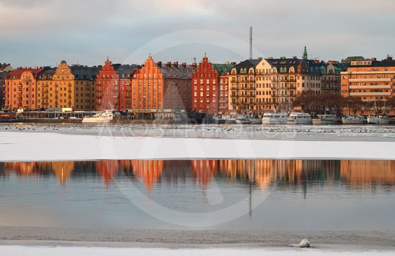 Reflections, Stockholm.