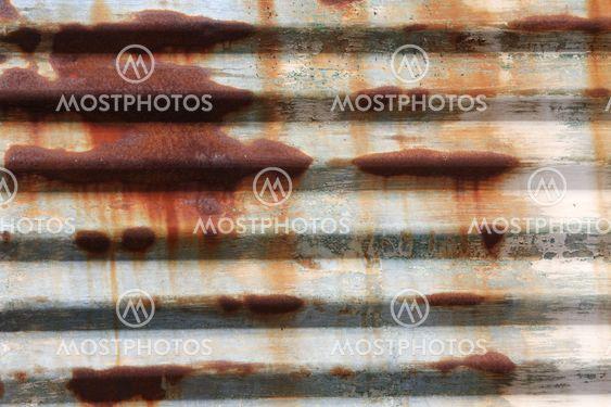 Bølgepap Metal Rust