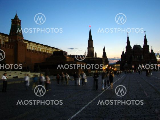 Red Square Evening