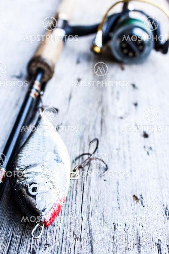Fiske spö, haspelrulle