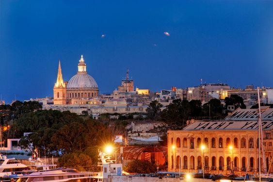 UFO över Valletta
