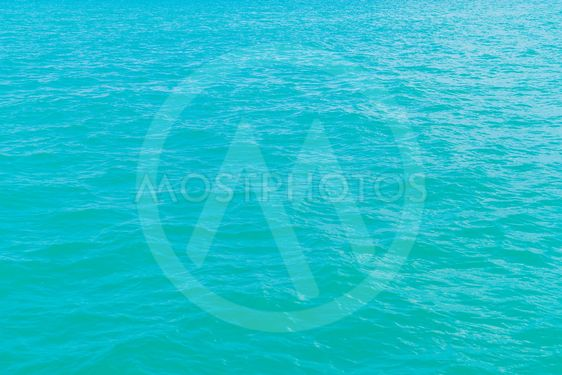 Beautiful sea surface with waves