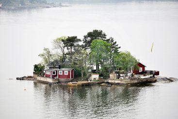 sommarstuga på ö
