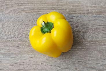 Fresh yellow sweet pepper