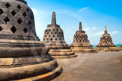 Borobudur temple site