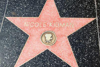 Nicole Kidman's Hollywood Star