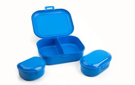 Blue Plastic Boxes
