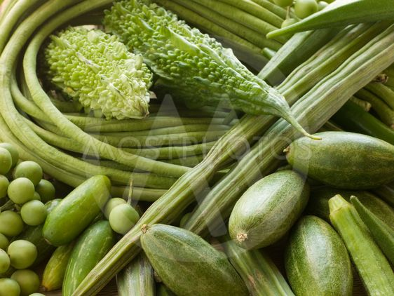 Selection of Asian Vegetables