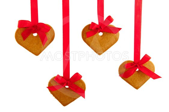 Ginger bread hearts