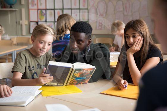 klass i mellanstadiet