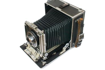 Old style large format camera