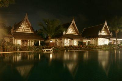 Thai style bungalows