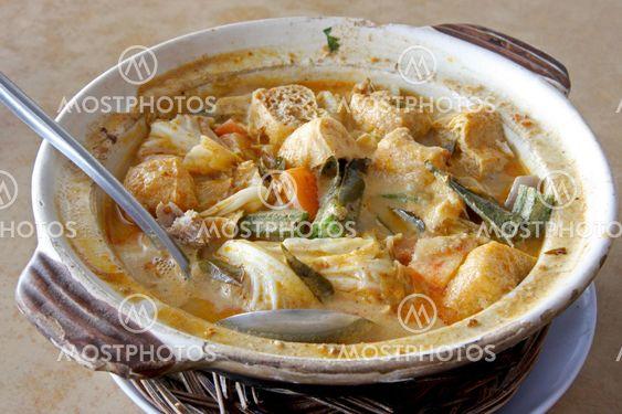 Kalojen eläintä curry