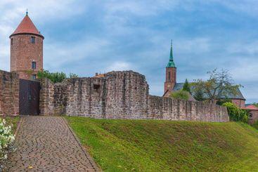 Dilsberg City wall