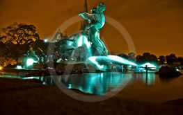 Gefion fountain in Copenhagen.