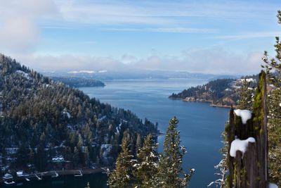 Fog Over Lake Coeur d Alene
