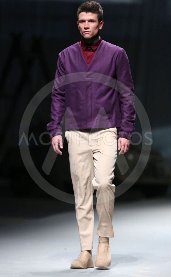 """Fashion model wears clothes made by Ivanman on """"CRO A..."""