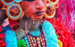 Complex costume in Kerala