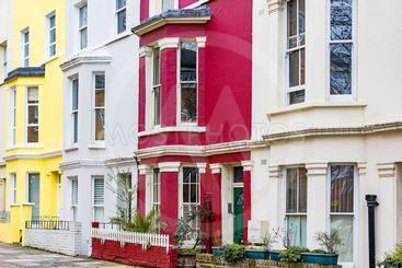 Building facade in London