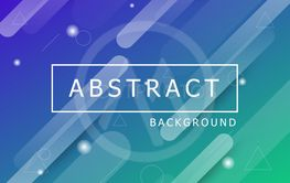 Geometric dynamic shapes abstract background