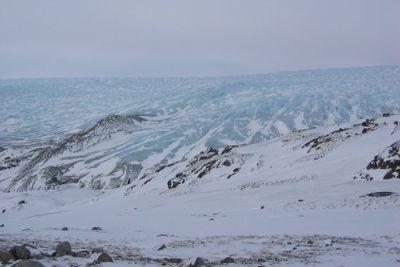 Inland ice Greenland