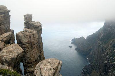 Dolerite Cliffs Cape Pillar