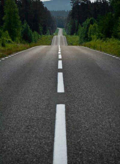 Landsväg i Dalarna
