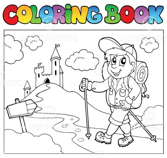 Libro para colorear con chi...\