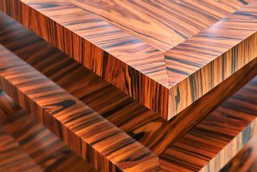 Wooden wall panels. Rosewood fineline veneer wall panels...