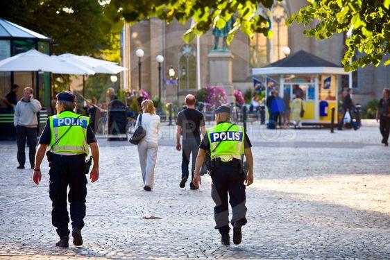 Poliser på stan