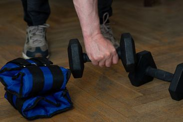 Equipment for exercising the muscles