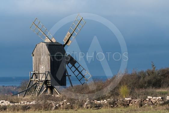Väderkvarn, symbol för Öland solens och vindarnas ö