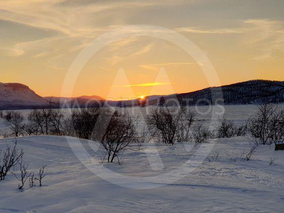 Solnedgång i Torneträsk_3