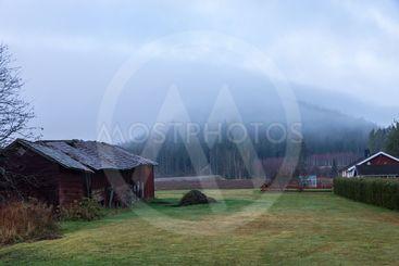 En dimmig morgon