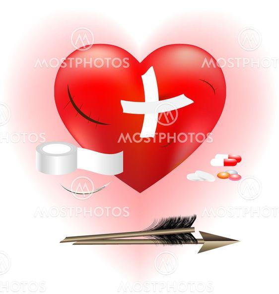 såret hjerte