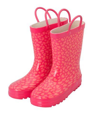 Pink gumboots