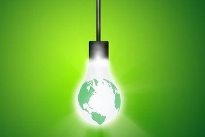 Hanging Earth Bulb