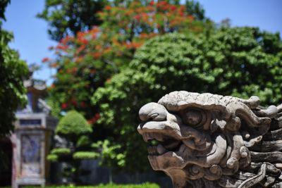Stone Dragon Figure