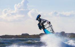 Almanacka 2020 Calendar July Juli  Windsurfing - Silvertid