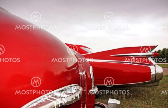 American Classic Cars - Closeup in Red