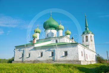 Church of the Nativity of John the Baptist. Staraya Ladoga
