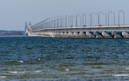 Ölandsbron sedd från Öland