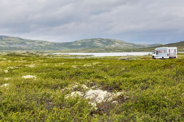 Camping in Rondane National Park in Norway