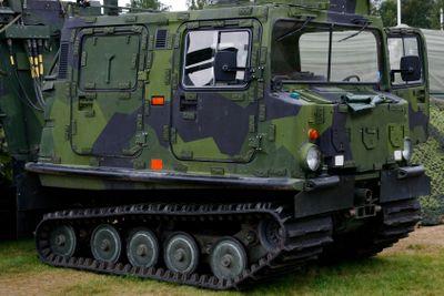 swedish army vehicle