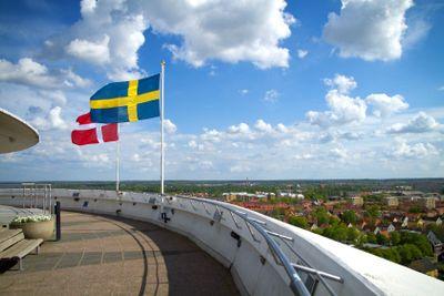 Örebro, utsikt från Svampen