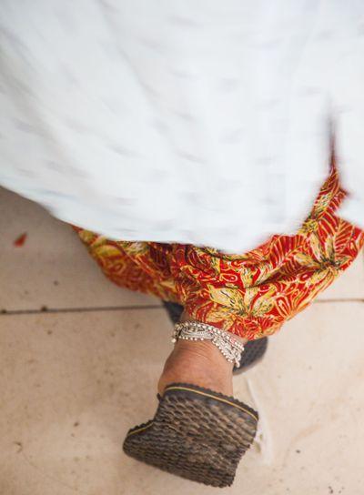 Ankle bangles