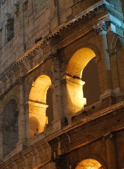 Coliseum in Rome - Night