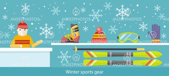 Winter Sports Gear Ski and Accessories